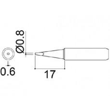 Pákahegy, 0,8D forma
