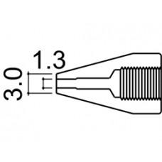 Kiforrasztó pákacsúcs 1,3 mm