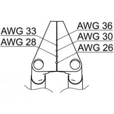 Vezetékcsupaszító penge, AWG 26-36, FT-8002-höz