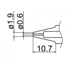 Kiforrasztó csúcs, 0,6 mm FM-2024-hez