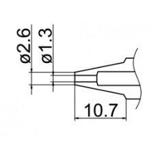 Kiforrasztó csúcs, 1,3 mm FM-2024-hez