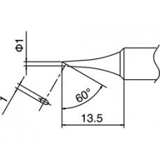 Pákahegy, T18 sorozat, 1C forma, csak felületen ónozott