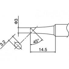 Pákahegy, T18 sorozat, 3C forma, csak talpfelületen ónozott