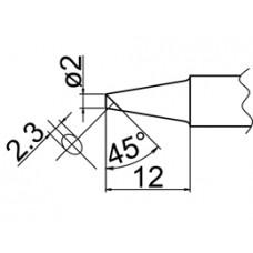 Pákahegy, 2BC forma, csak felületen ónozott