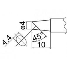 Pákahegy, 4BC forma, csak felületen ónozott