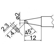 Pákahegy, 2BC forma, kanalas