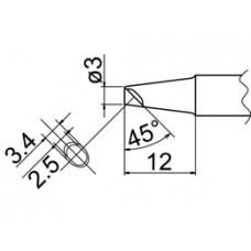 Pákahegy, 3BC forma, kanalas